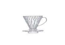 Load image into Gallery viewer, Hario V60 Clear Coffee Dripper - No.2