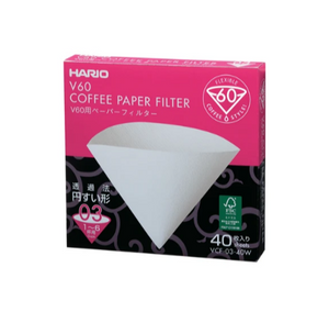 Hario V60 Coffee Paper Filter - No.3