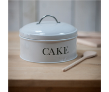 Load image into Gallery viewer, Garden Trading Round Cake Tin - Chalk