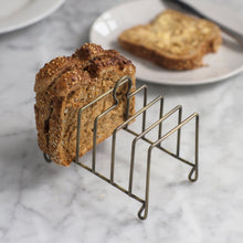 Load image into Gallery viewer, Garden Trading Brompton Toast Rack - Brass