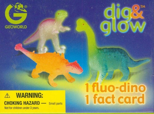 Dig & Glow Dino and Card Set