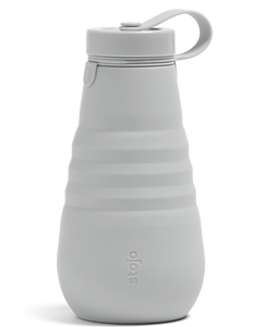 Stojo 20oz Collapsible Bottle - Cashmere