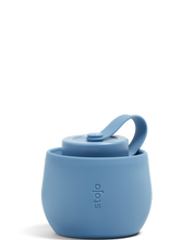 Load image into Gallery viewer, Stojo 20oz Collapsible Bottle - Steel Blue
