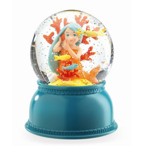 Snow Globe & Night Light - Mermaid