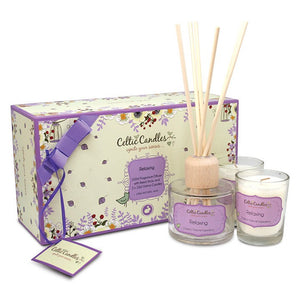 Celtic Candle Mini Gift Box - Relaxing