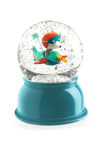 Snow Globe & Night Light - Airplane