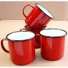 Load image into Gallery viewer, Enamel Mug - Red