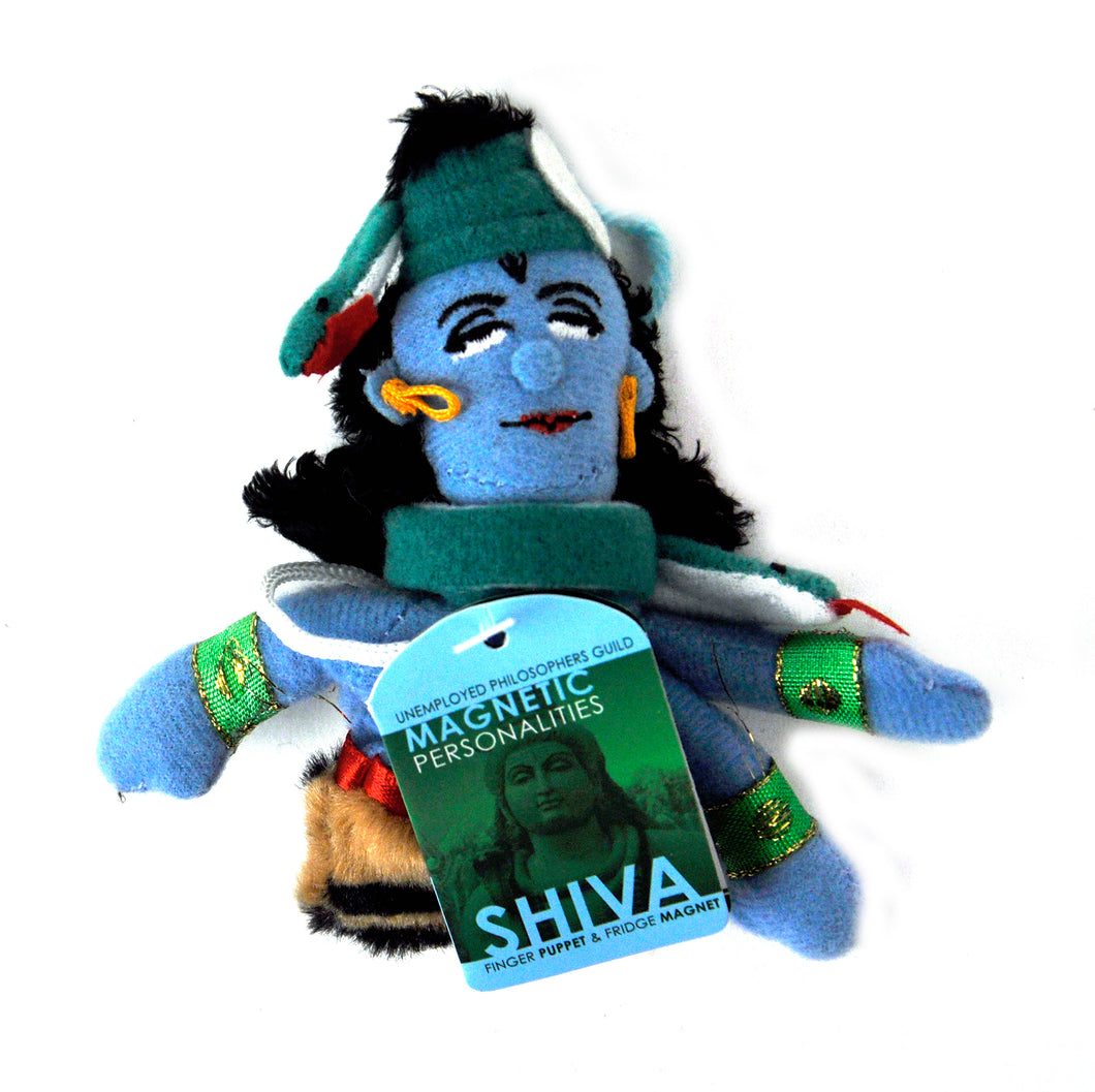 Shiva Finger Puppet and Fridge Magnet