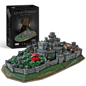 Game of Thrones 3D Puzzle - Winterfell