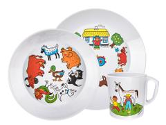 Children's Dinner Set - Farm