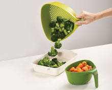 Load image into Gallery viewer, Joseph Joseph Nest Colanders - Green