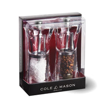 Load image into Gallery viewer, Cole & Mason Precision Crystal Salt & Pepper Mill Set