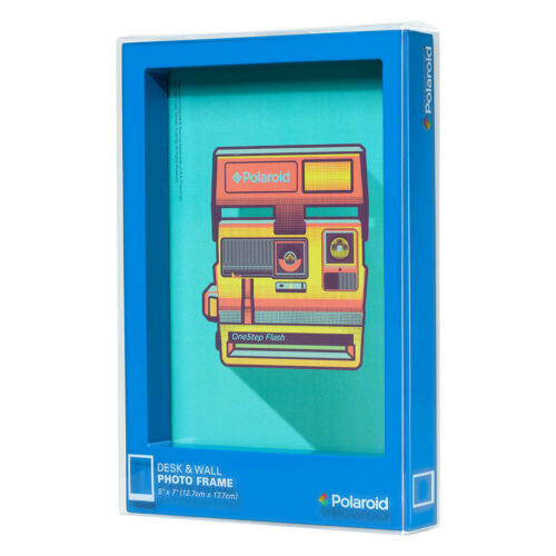 Polaroid Blue Desk & Wall Frame (5x7)