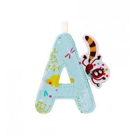 Georges Fabric Letter - A