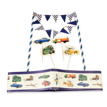 Load image into Gallery viewer, Rex Cake Bunting - Vintage Transport