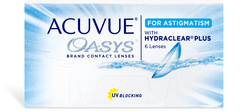 Acuvue Oasys for Astigmatism (6 pk)