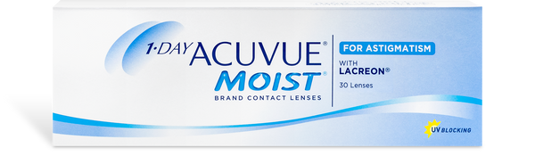 1 Day Acuvue Moist Astigmatism (30 pk)