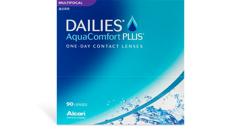 Dailies Aqua Comfort Plus Multifocal (90 pk)