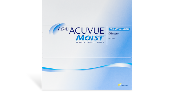 1 Day Acuvue Moist Astigmatism (90 pk)