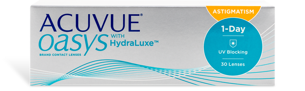 Acuvue Oasys 1 Day Astigmatism (30 pk)