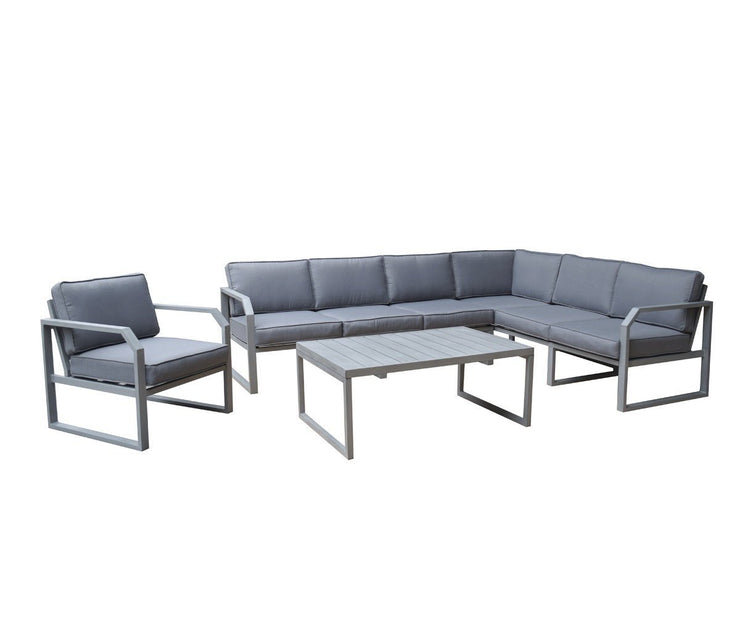Alarna Corner Sofa Set With Coffee Table