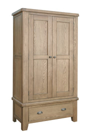 Hatton Wooden 2 Door Wardrobe