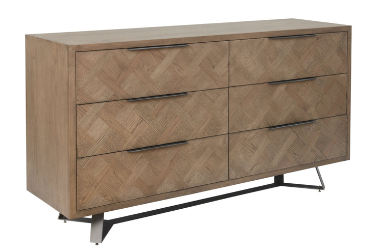 Chevron 6 Drawer Chest Of Drawers