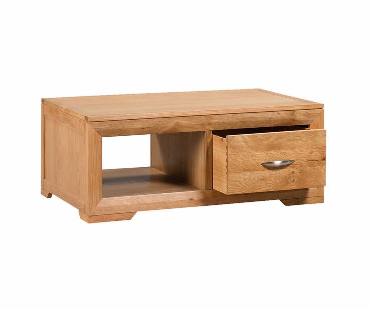 Moda Coffee Table With 2 Drawers