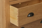 Hampton Oak 2 Over 3 Chest