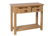 Hampton Oak Console Table