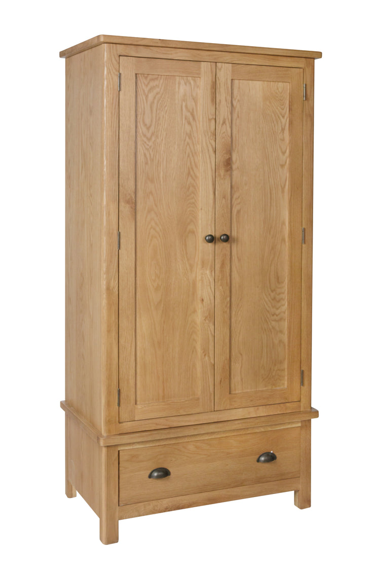 Hampton Oak Gents Wardrobe