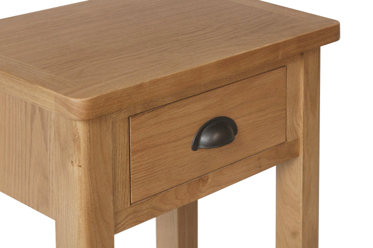Hampton Oak Telephone Table