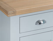 Hampstead Grey 4 Door Sideboard