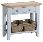 Hampstead Grey Console Table - Various Sizes