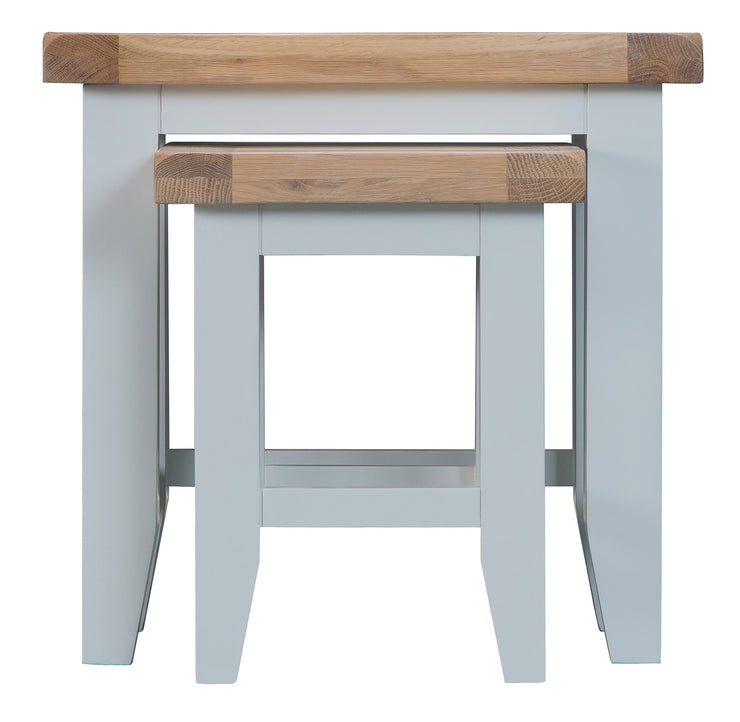 Hampstead Grey Nest Of 2 Tables