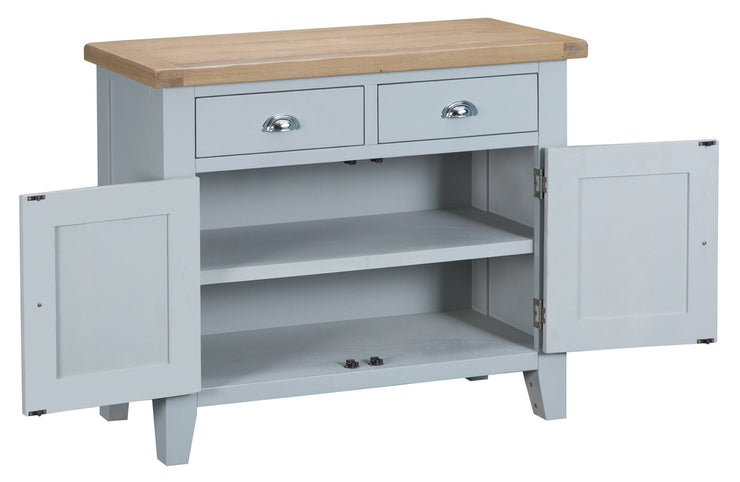 Hampstead Grey 2 Door 2 Drawer Sideboard