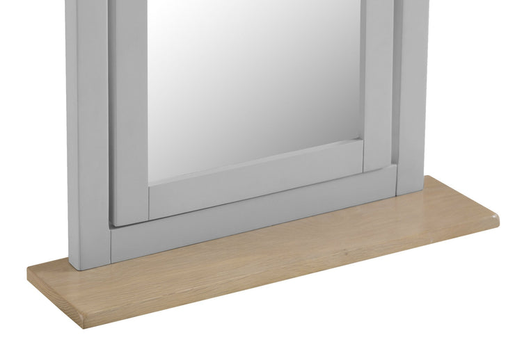 Hampstead Grey Trinket Mirror