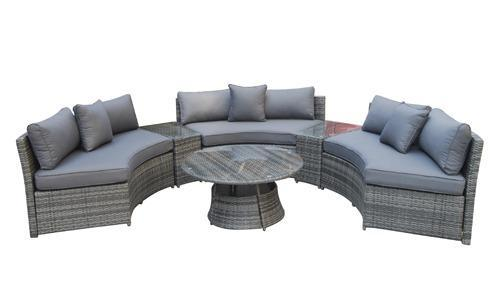 Juliet Grey Corner Sofa