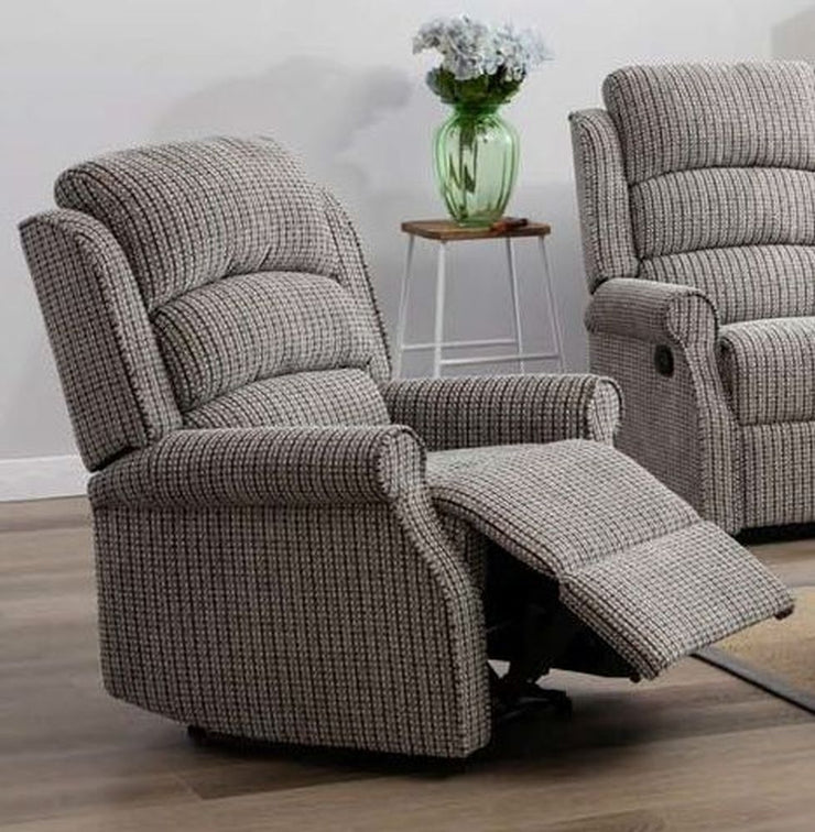 Windsor Fabric Recliner Armchair