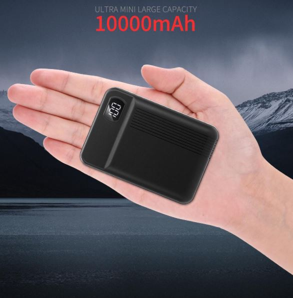 Power Bank Mini Quick charge power banks battery slim
