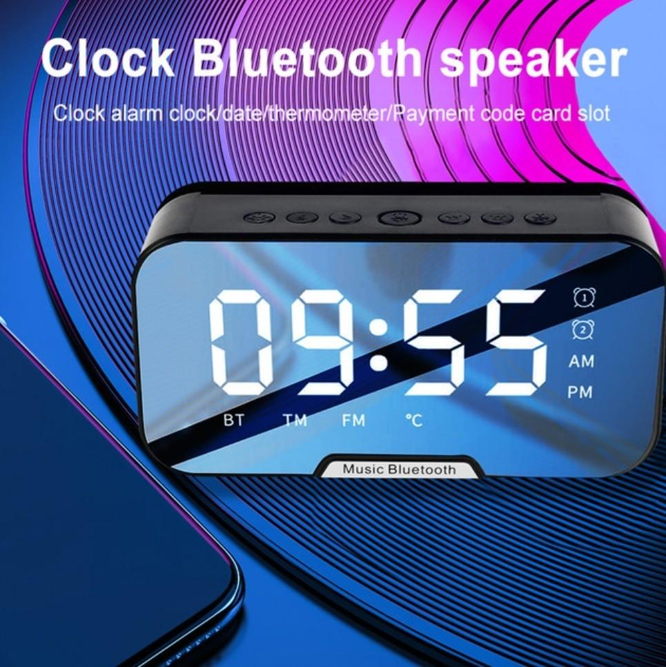 Bluetooth Speaker Wireless with Alarm Clock