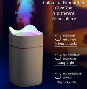 Colourful Light Humidifier Smart Diffuser Ultrasonic Aroma Essential Oil 1.4L Diffusers Cool Mist Maker Home Purifier