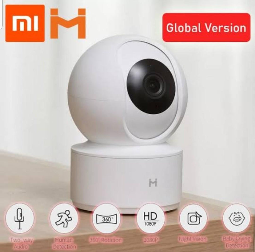 Intl version ☑ 2019 Xiaomi Mijia Chuangmi 1080P HD Wireless IP Camera 360 Angle CCTV WiFi Pan-Tilt Night Vision Webcam For Mi Smart Home