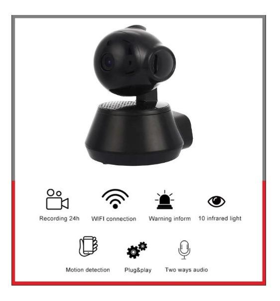 IP Camera Home Security Wireless WiFi Surveillance HD CCTV V380