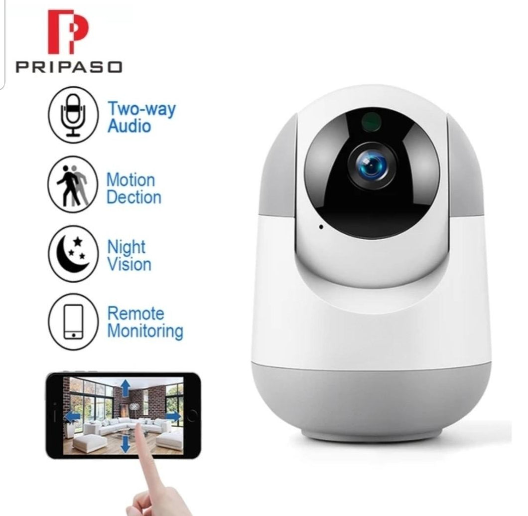 Wifi Camera 360 Degree Indoor IP security camera with 2 way intercom for Home