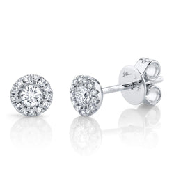 0.24CT DIAMOND STUD EARRING