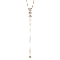 0.29CT DIAMOND LARIAT NECKLACE