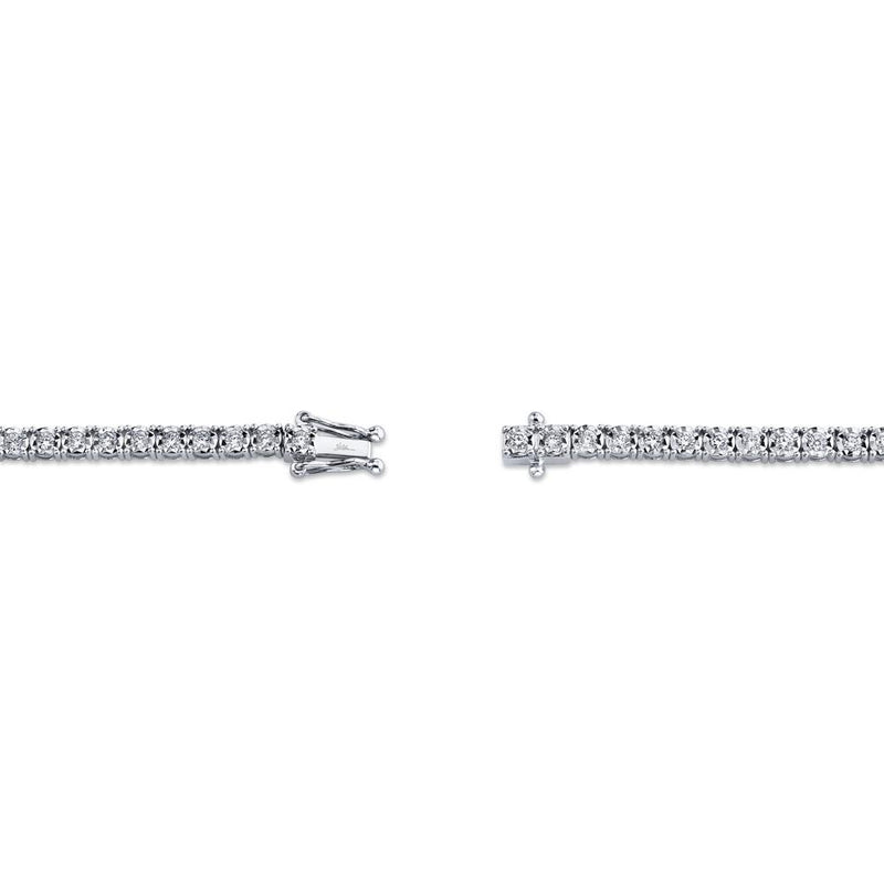 1.00CT DIAMOND TENNIS BRACELET