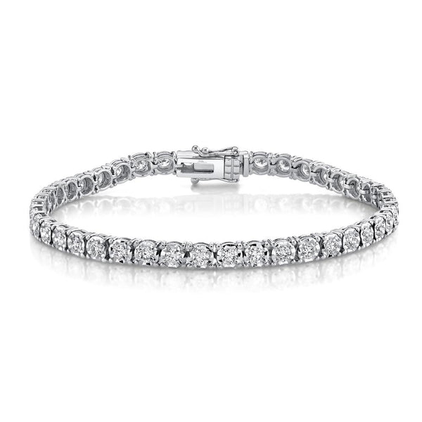 3.00CT DIAMOND TENNIS BRACELET