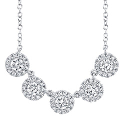0.53CT DIAMOND NECKLACE